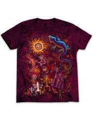Классная футболка с ящерицей для активного ребёнка
